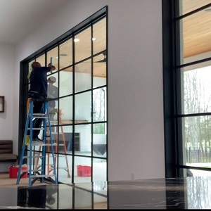 window cleaning for construction